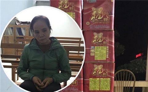 Bắt đối tượng vận chuyển 33kg pháo nổ từ Trung Quốc vào Việt Nam