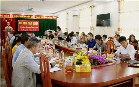 """Các huyện 30a Nghệ An: """"Phủ sóng"""" giao ban trực tuyến đến cấp xã"""