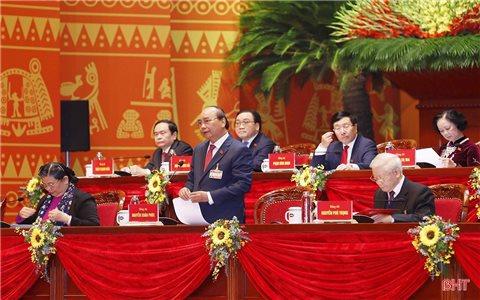 Nhiều vấn đề quan trọng để phát triển bền vững đất nước được quan tâm tại phiên thảo luận Đại hội XIII của Đảng
