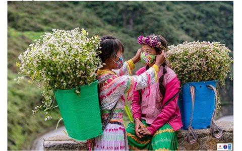 Bộ ảnh đồng bào các dân tộc Hà Giang phòng, chống Covid-19, phát triển kinh tế bền vững