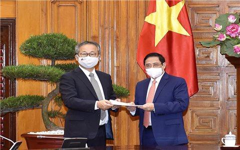 Nhật Bản hỗ trợ Việt Nam 1 triệu liều vaccine phòng, chống COVID-19