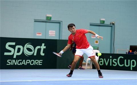 Đội tuyển quần vợt Việt Nam thắng trận ra quân tại Davis Cup