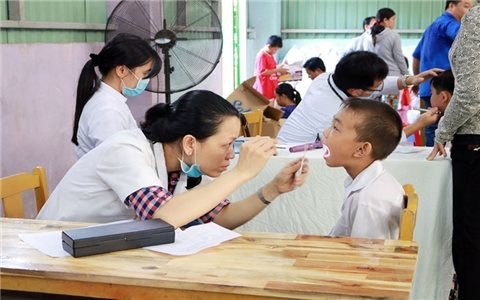 Chính sách Bảo hiểm y tế học đường- Bước đi quan trọng trong thực hiện BHYT toàn dân