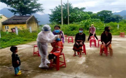 Quảng Nam: Phong tỏa toàn xã đồng bào Gié Triêng do số ca dương tính với Covid-19 tăng cao