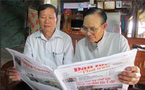 Kỷ niệm 19 năm ngày Báo Dân tộc và Phát triển phát hành số báo đầu tiên (27/10/2002 - 27/10/2021): Đồng hành cùng sự phát triển của đồng bào DTTS