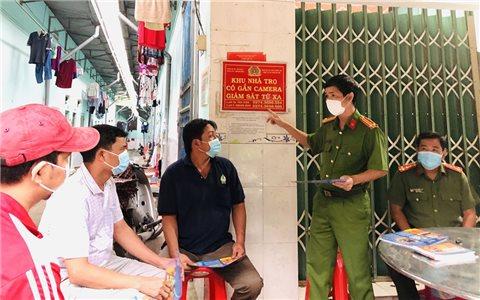Bình Dương: Gặp gỡ, tuyên truyền phòng chống tội phạm cho đồng bào DTTS tạm trú tại thị xã Tân Uyên