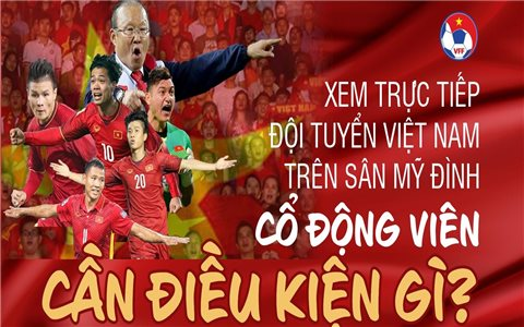 Cách nào để cổ động viên mua vé xem đội tuyển Việt Nam đấu Nhật Bản trên sân Mỹ Đình?