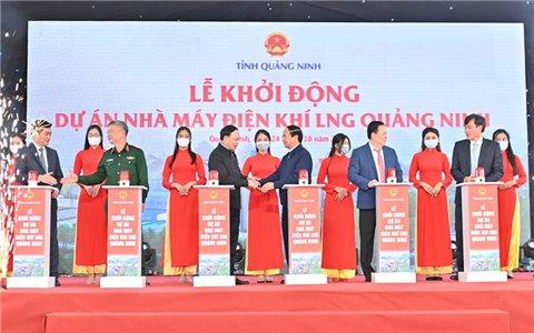 Quảng Ninh: Khởi công 4 dự án trọng điểm