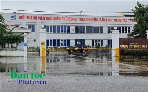 Thanh Hóa: Công ty TNHH 888 cho thuê đất dựng xưởng trái phép
