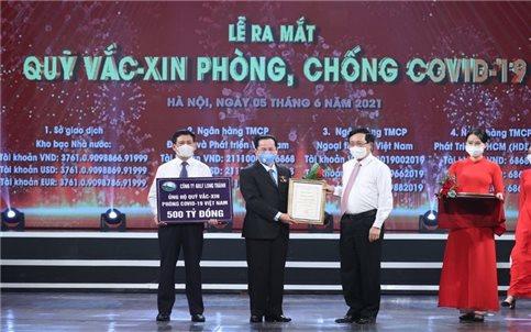 Quỹ Vaccine phòng chống Covid-19 và góc nhìn về tinh thần dân tộc của doanh nhân Việt