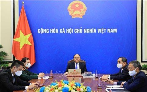 Chủ tịch nước điện đàm với Tổng Thư ký LHQ Antonio Guterres