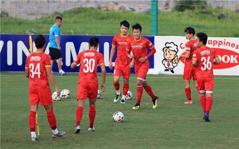 Đội tuyển Việt Nam hội quân, chuẩn bị Vòng loại cuối World Cup