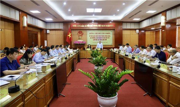 Bộ trưởng, Chủ nhiệm UBDT Đỗ Văn Chiến: Lạng Sơn sớm hoàn thiện các nội dung báo cáo khả thi Chương trình MTQG