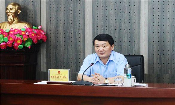 Bộ trưởng, Chủ nhiệm Hầu A Lềnh chủ trì giao ban Lãnh đạo Ủy ban Dân tộc