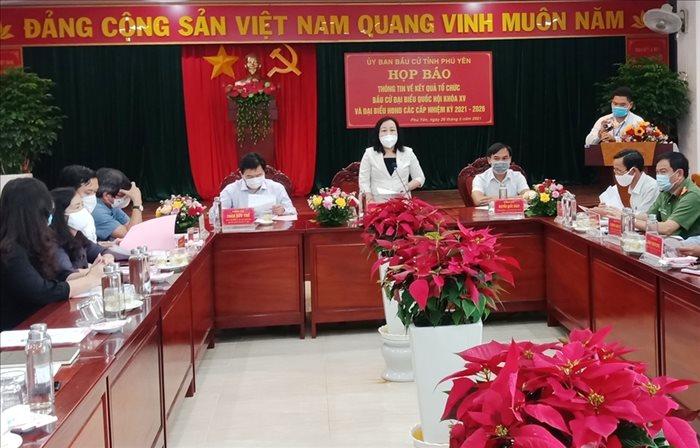 Phú Yên: 99,9% cử tri đi bỏ phiếu bầu cử đại biểu Quốc hội khóa XV và đại biểu Hội đồng nhân dân các cấp