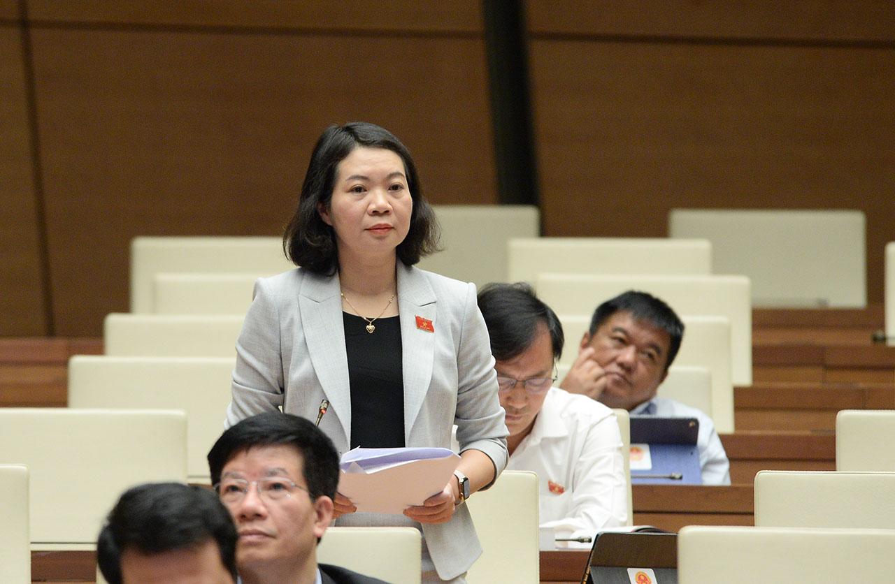 Đại biểu Quốc hội thảo luận về một số nội dung còn ý kiến khác nhau của dự thảo Luật sửa đổi, bổ sung một số điều của Luật Xử lý vi phạm hành chính.
