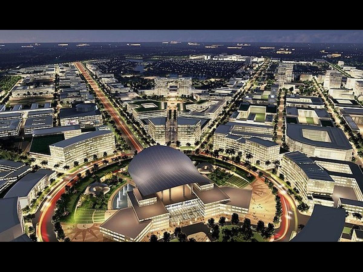 Góc phối cảnh mô hình thành phố Thủ Đức (TP.HCM)
