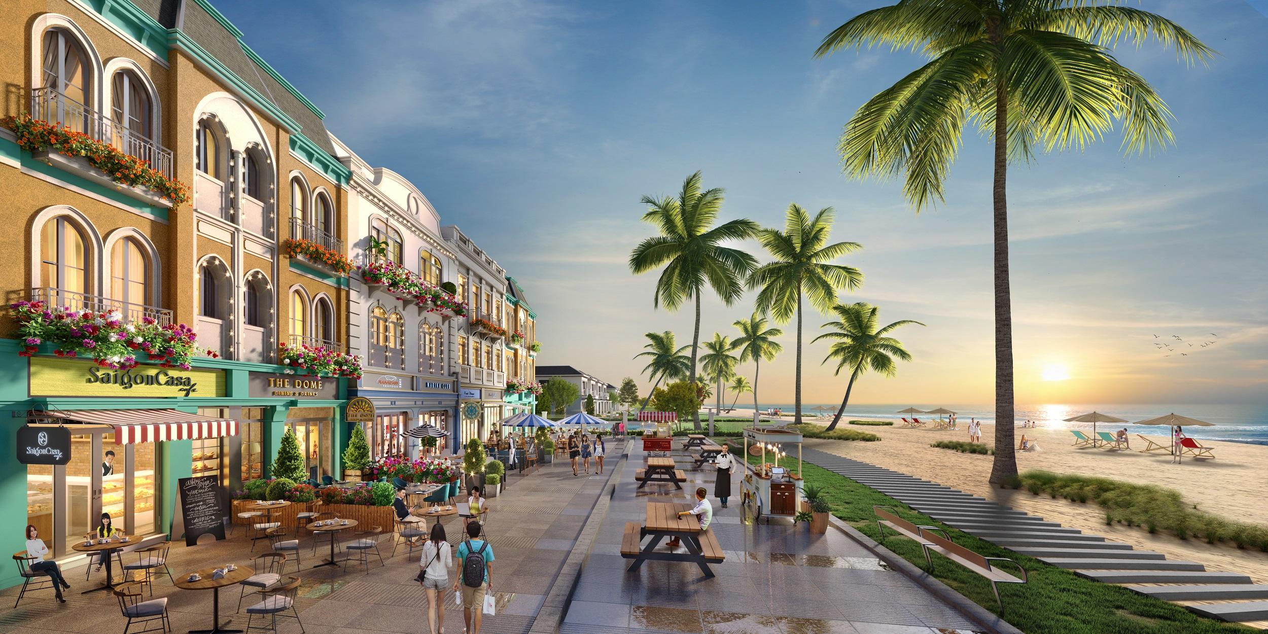 Sự xuất hiện của các đại dự án đang giúp Hồ Tràm (Bà Rịa, Vũng Tàu) trở thành điểm đến du lịch hấp dẫn