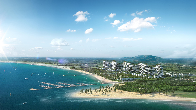 Hàng loạt dự án bất động sản ở Bình Thuận đang được đầu tư thu hút