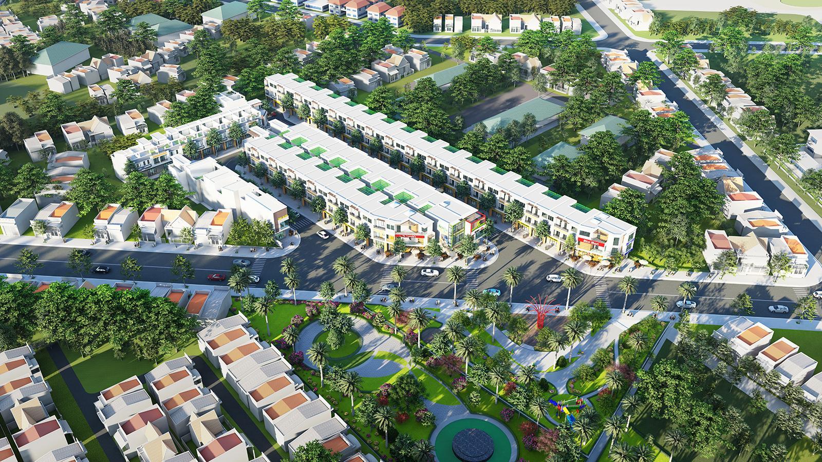 Một số dự án bất động sản thu hút nhà đầu tư ở Thuận An (Bình Dương)
