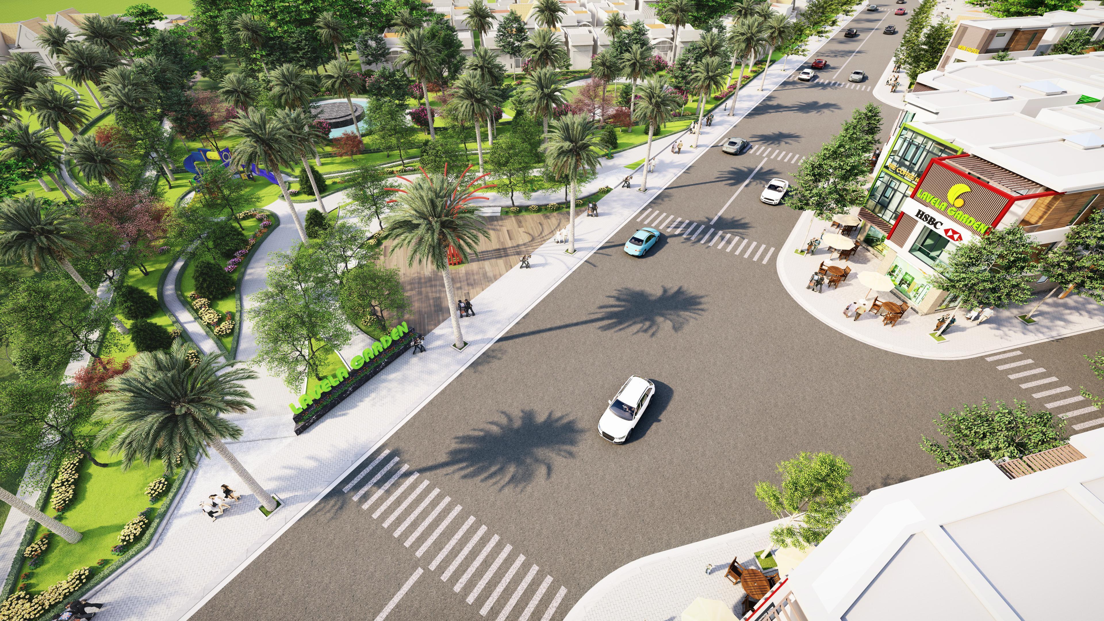 Phối cảnh một dự án ở Thuận An (Bình Dương)