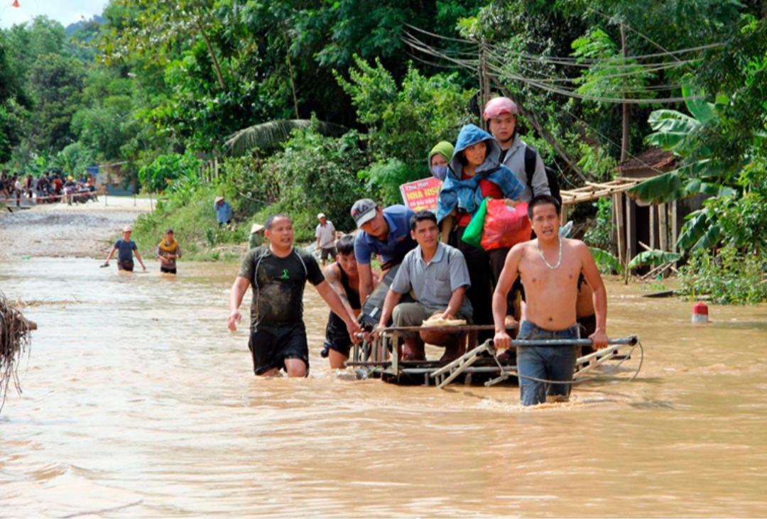 Người dân xã Tam Quang hứng chịu trận lũ lịch sử có yếu tố do thủy điện xả lũ