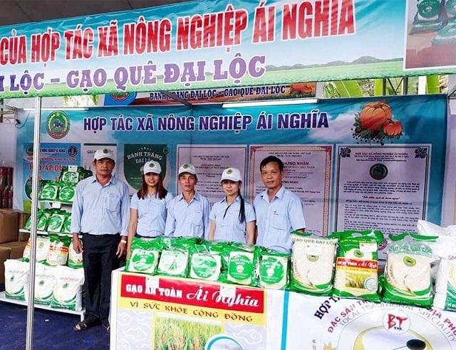 Mô hình của HTX nông nghiệp Ái Nghĩa hoạt động hiệu quả, góp phần vào sự phát triển kinh tế - xã hội tại địa phương (Ảnh:TL)