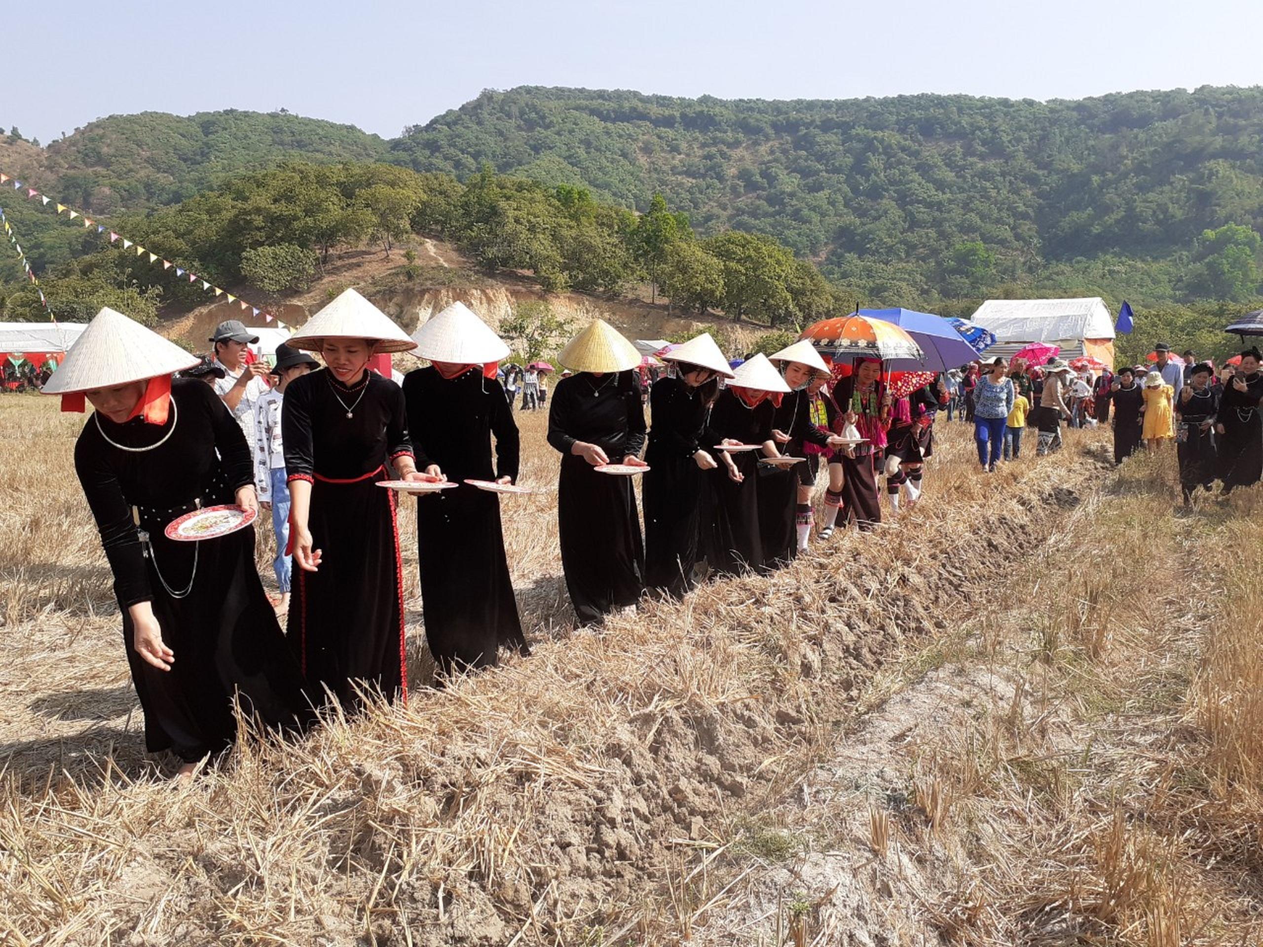 Định Quán phục dựng duy trì Lễ hội Lồng Tồng của đồng bào Tày, Nùng ở xã Thanh Sơn.