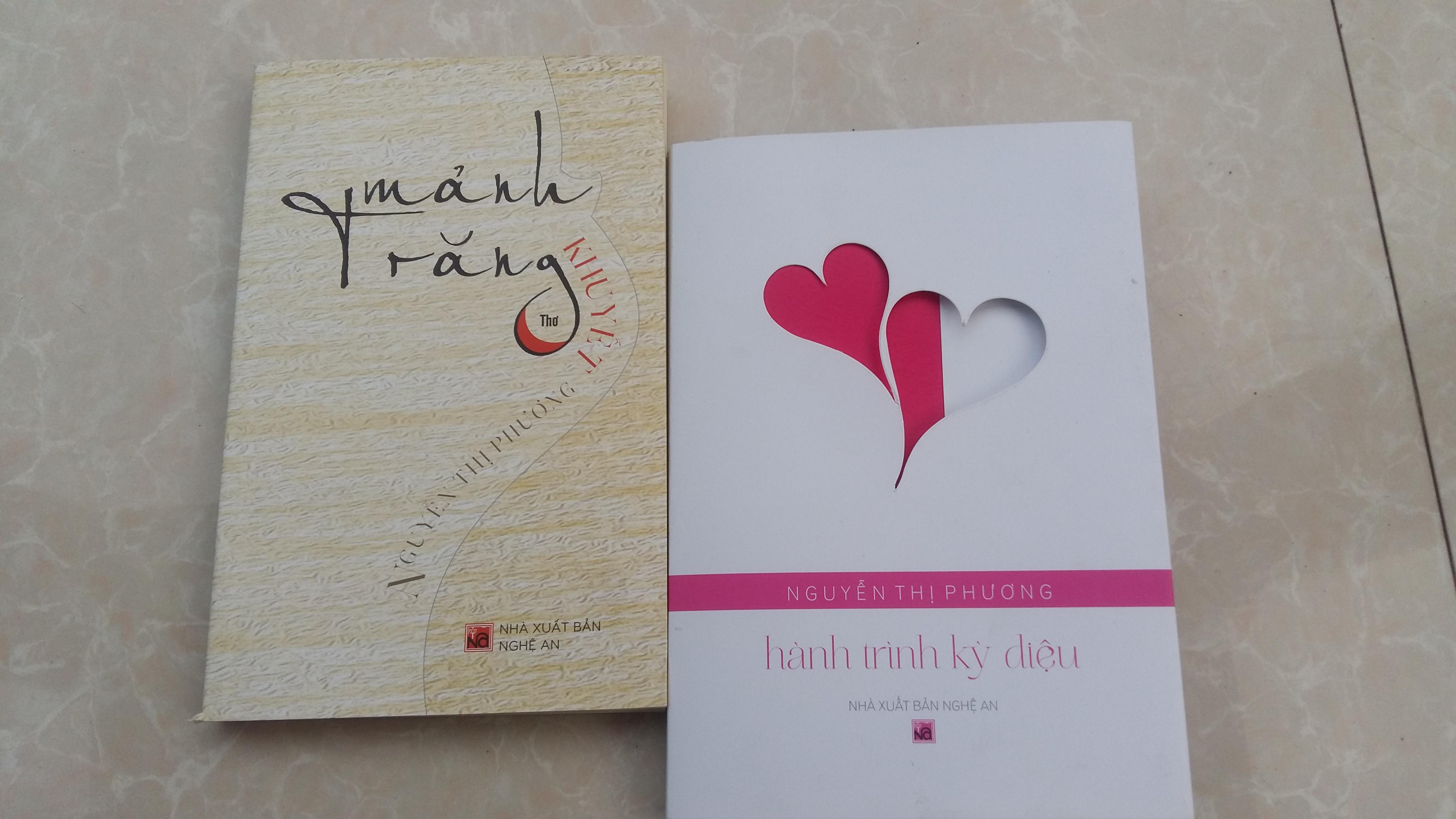 2 trong số 4 cuốn sách Phương đã đã xuất bản