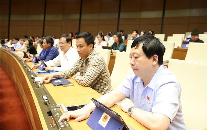 Kỳ họp thứ 9, Quốc hội khóa XIV: Biểu quyết thông qua Luật Thanh niên (sửa đổi)