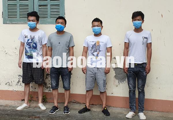 4 công dân Trung Quốc nhập cảnh trái phép vào Việt Nam.