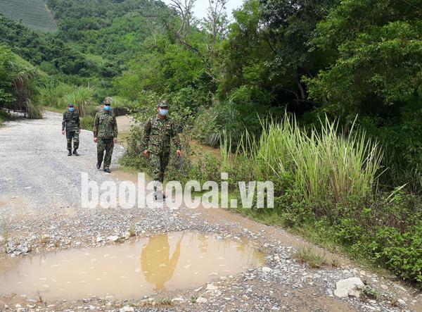 Bộ đội Biên phòng Lào Cai tăng cường công tác tuần tra, kiểm soát để kịp thời phát hiện, ngăn chặn những đối tượng vượt biên trái phép vào Việt Nam.