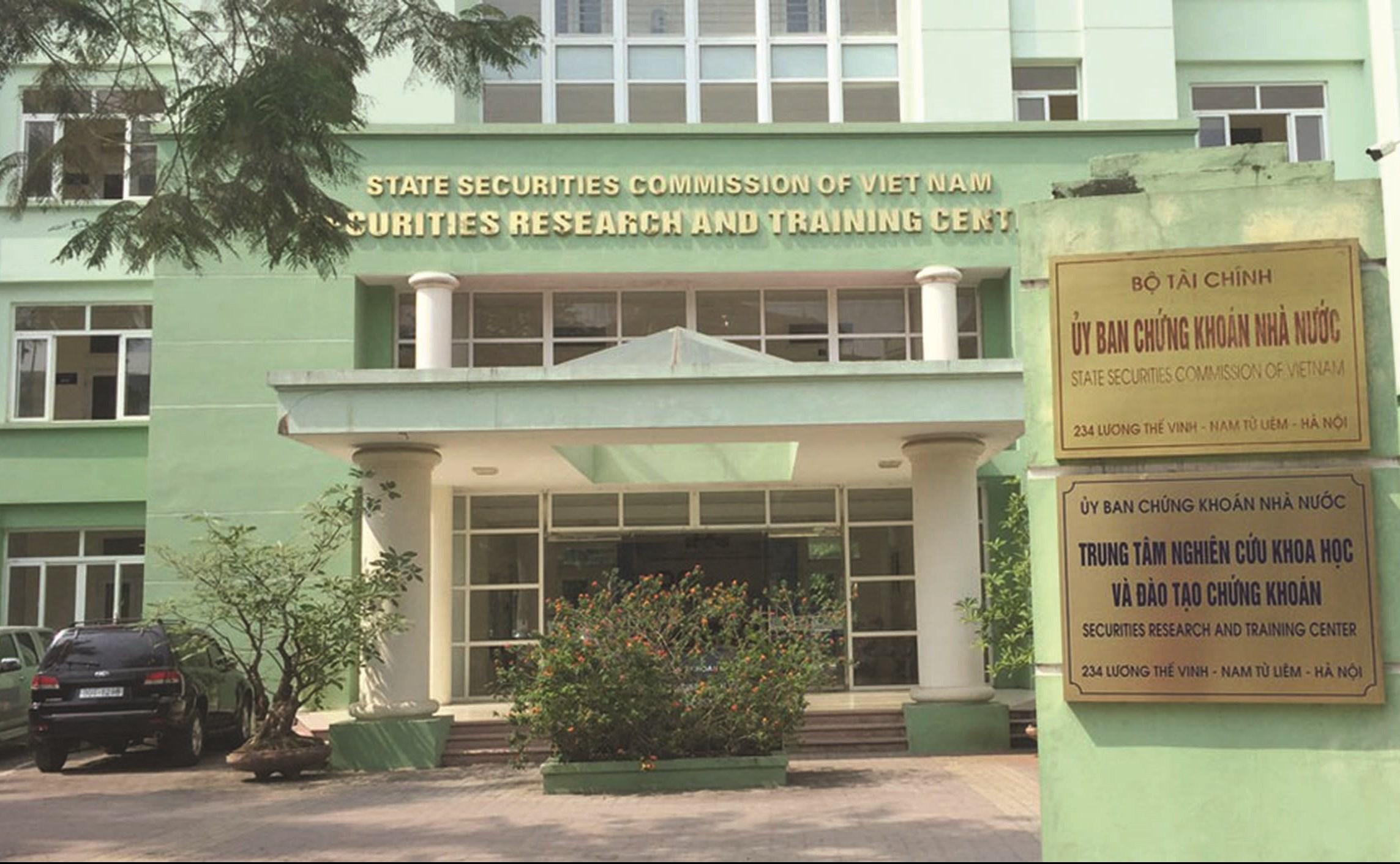 Trụ sở của Cục Công nghệ thông tin, Ủy ban Chứng khoán Nhà nước