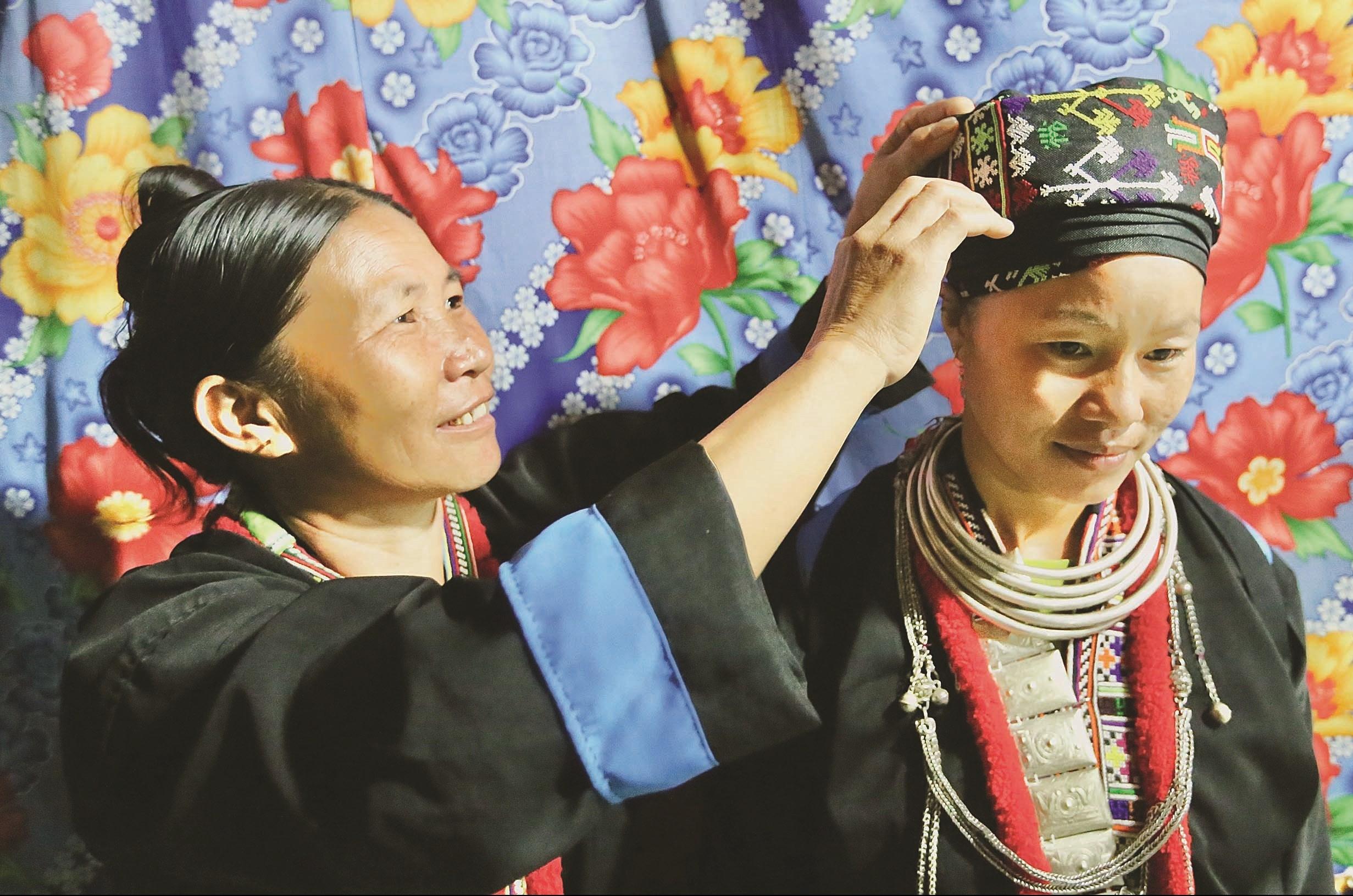 Trang phục truyền thống của người Dao ở Nậm Pồ