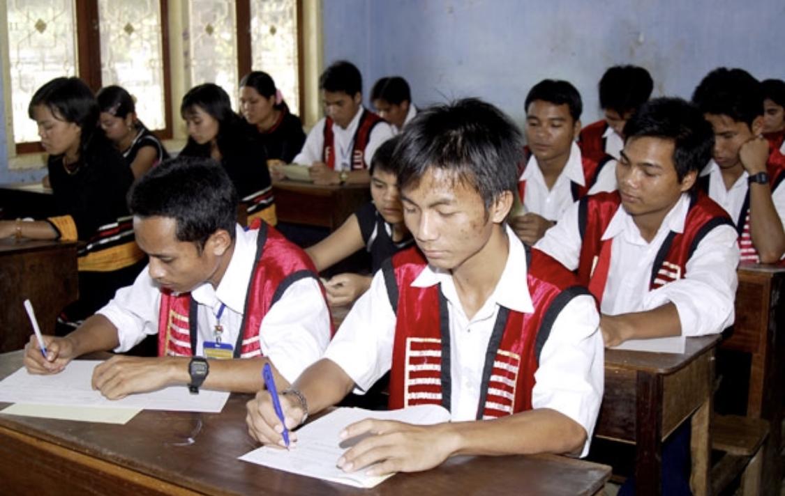Một lớp học vùng đồng bào DTTS, miền núi (ảnh tư liệu)