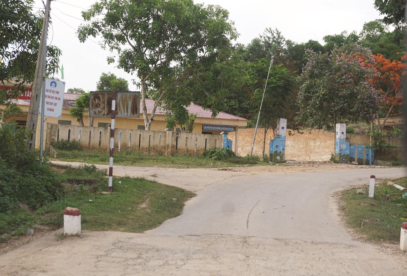 Một góc làng quê xã Tân Bình, huyện miền núi Như Xuân nơi xảy ra sự việc.