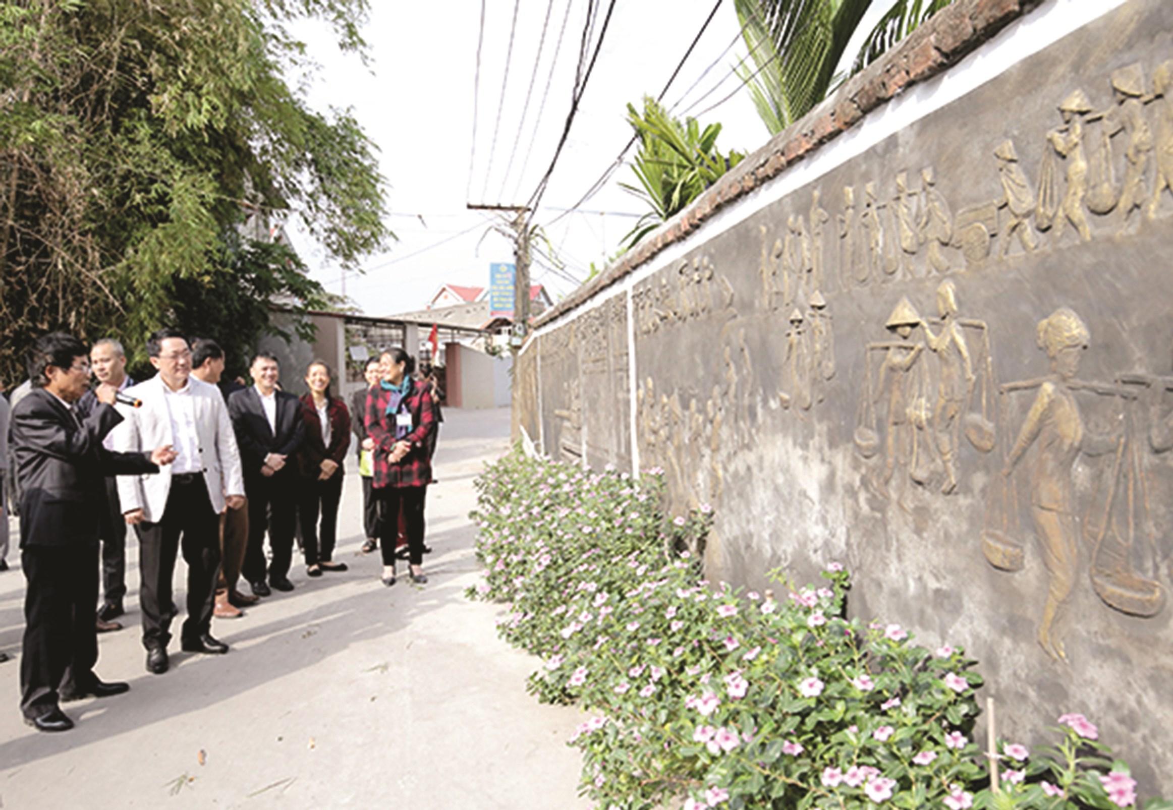 Diện mạo NTM kiểu mẫu ở thôn Đông Thượng, xã Lãng Sơn