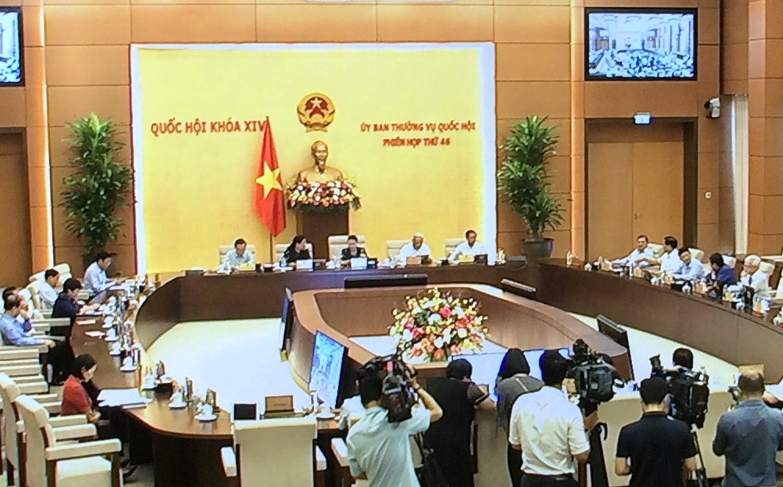 UBTVQH khai mạc Phiên họp thứ 46. Ảnh VGP/Nguyễn Hoàng
