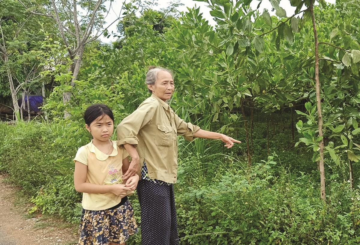 Bà Nguyễn Thị Luyến có hoàn cảnh khó khăn, thuộc diện gia đình chính sách (gia đình liệt sĩ)