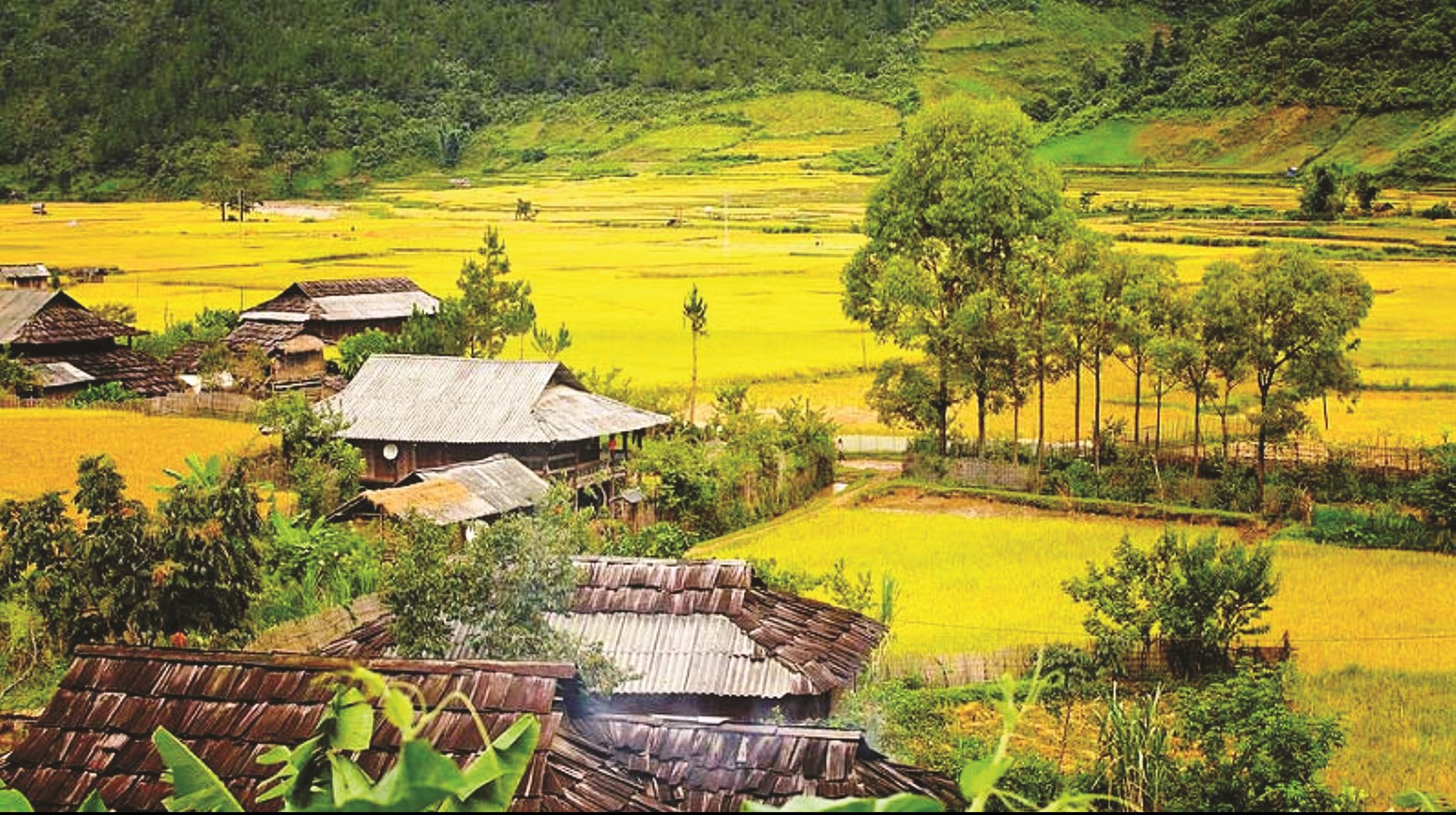 Nhiều xã vùng đồng bào DTTS và miền núi đã về đích nông thôn mới nhưng vẫn còn rất khó khăn. (Ảnh tư liệu)