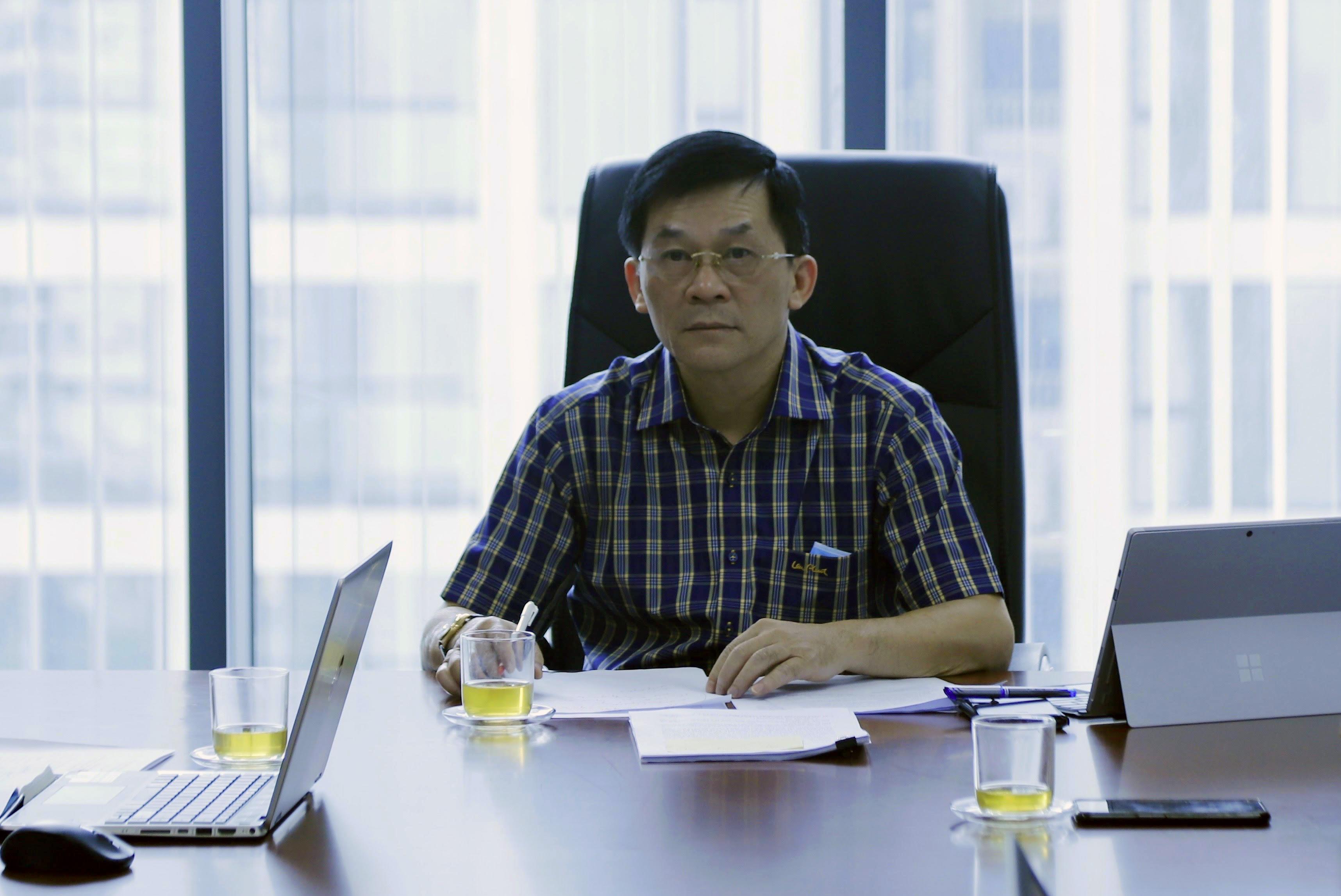 Thứ trưởng, Phó Chủ nhiệm UBDT Nông Quốc Tuấn chủ trì buổi làm việc