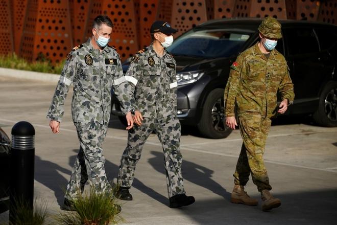 Australia đang siết chặt các biện pháp ngăn ngừa sự lây lan của dịch COVID-19 sau khi ghi nhận nhiều ca mắc mới và tử vong nhất trong ngày kể từ khi dịch bệnh bùng phát. (Ảnh: Reuters)
