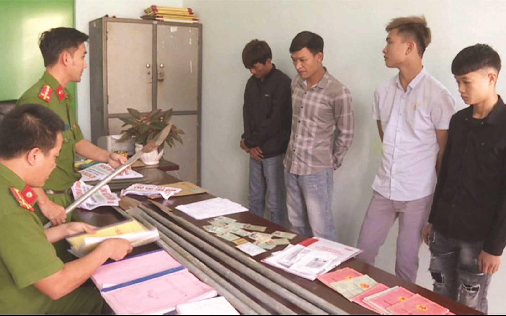 Nhóm côn đồ ở Hải Phòng vào Đăk Lăk hoạt động tín dụng đen và đòi nợ thuê. (Ảnh tư liệu)