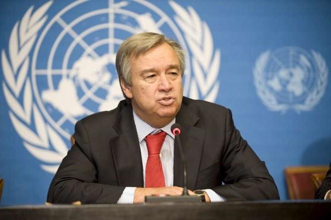 Tổng thư ký Liên hợp quốc Antonio Guterres. (Nguồn: nytimes.com)