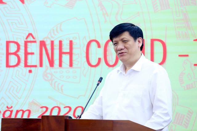 Quyền Bộ trưởng Bộ Y tế Nguyễn Thanh Long. Ảnh: VGP/Nguyễn Hoàng