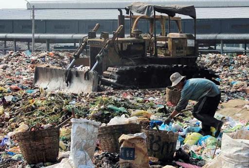 """Dự án Nhà máy xử lý rác Hòa Phú, huyện Long Hồ đã bị đóng cửa, Vĩnh Long """"đau đầu"""" vì rác thải"""