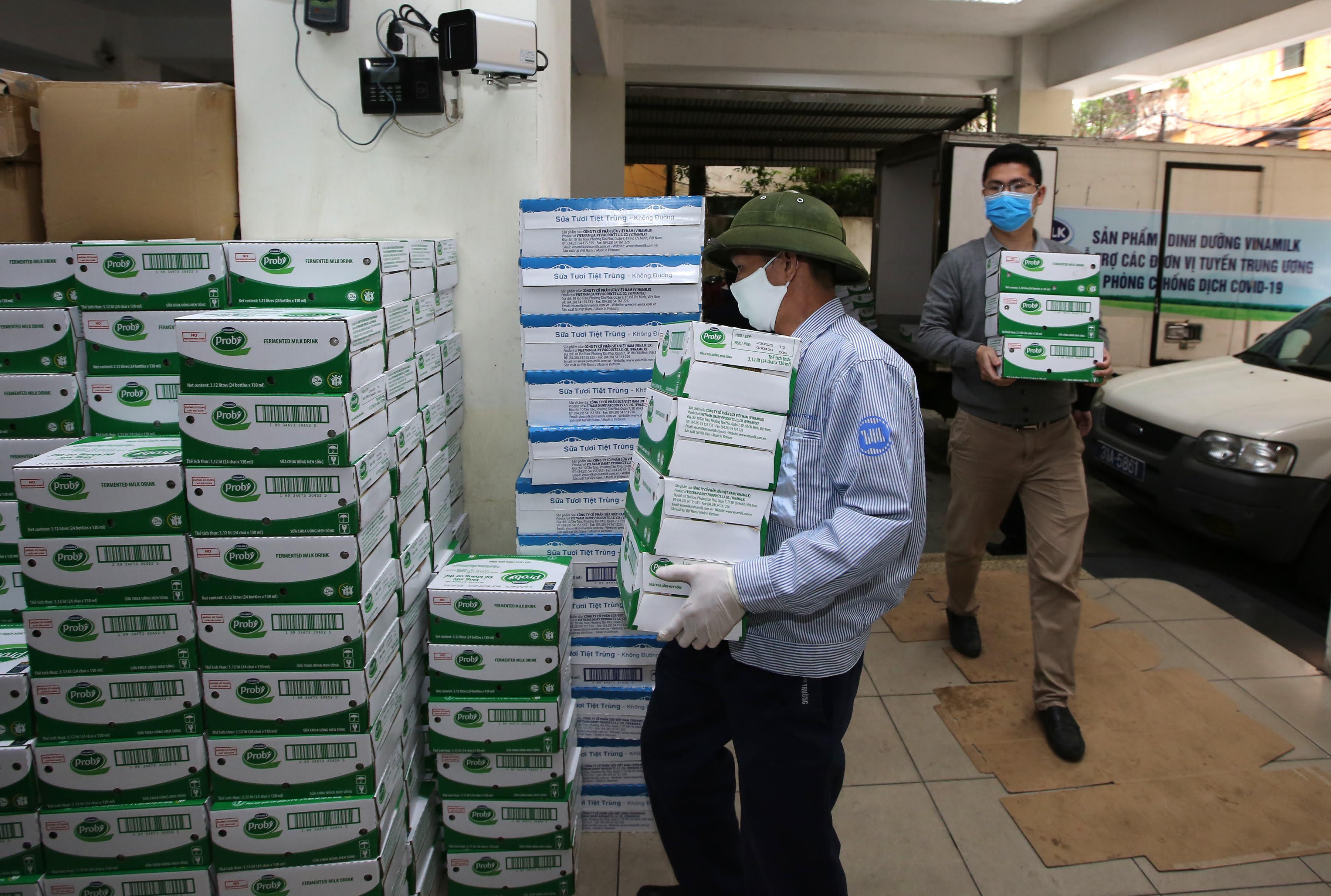 Tính đến nay, tổng kinh phí Vinamilk ủng hộ cho công tác phòng chống dịch đã lên tới gần 40 tỷ đồng