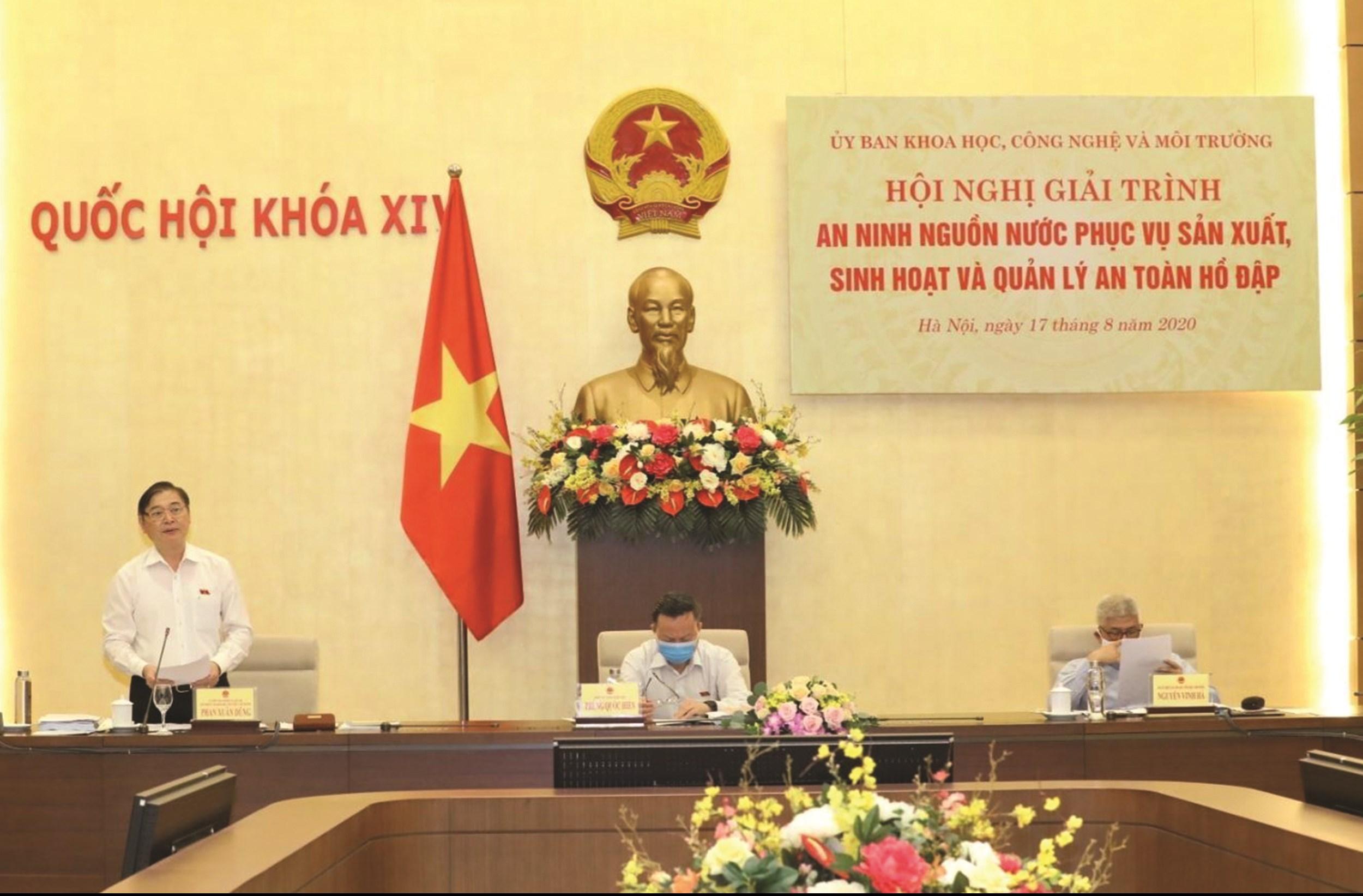 Hội nghị được tổ chức sáng 17/8, tại Nhà Quốc hội.