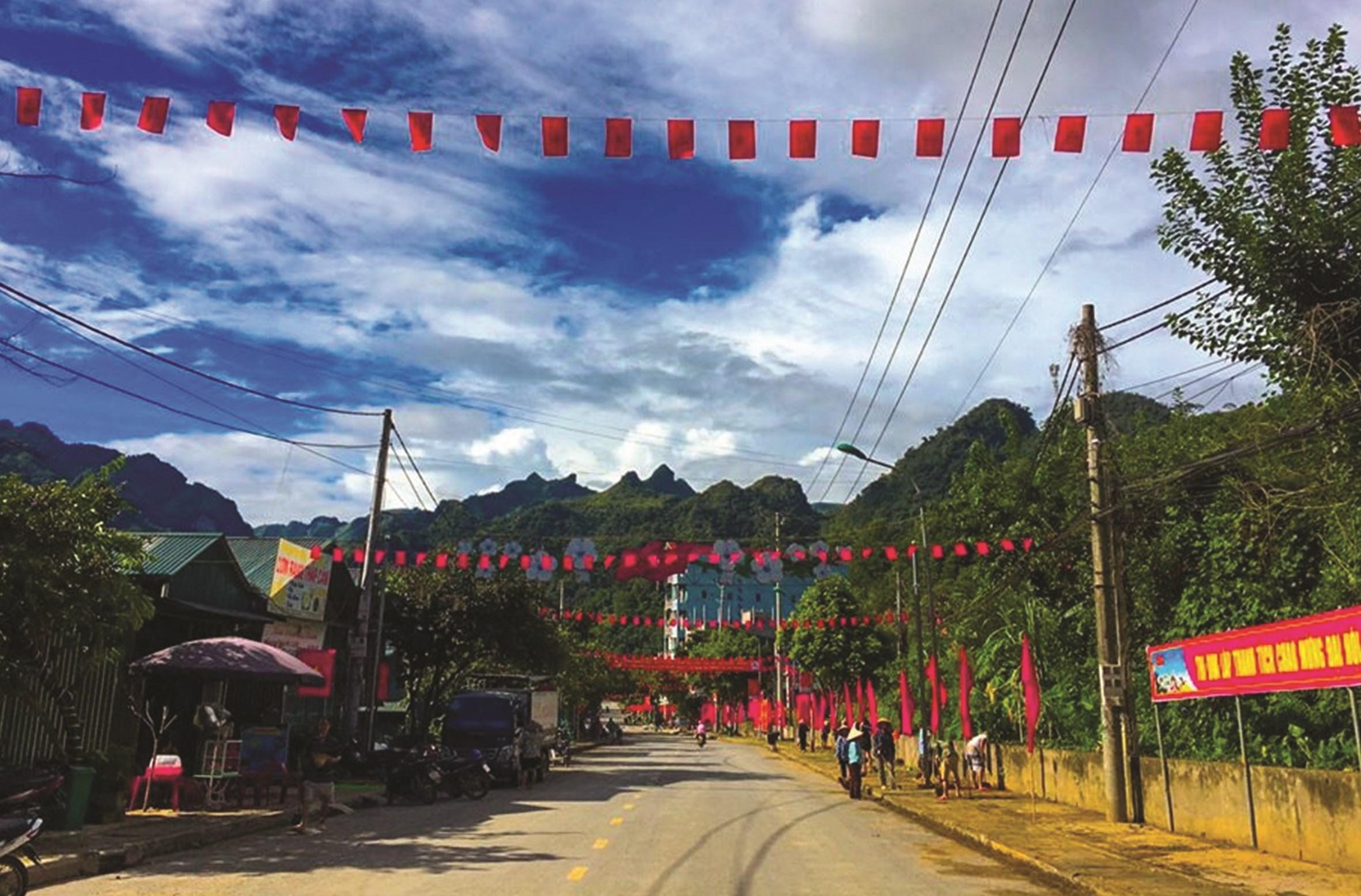 Thị trấn Pác Miầu, Bảo Lâm (Cao Bằng) hôm nay