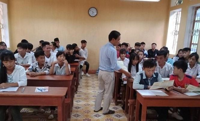 Triển khai BHYT học sinh năm học mới 2019-2020 huyện Mù Cang Chải (Yên Bái)